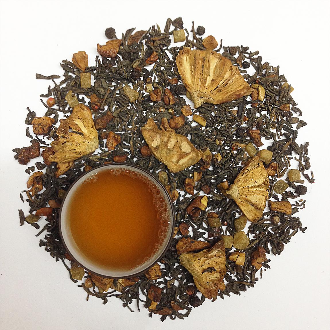 Grilled Pineapple Black Tea
