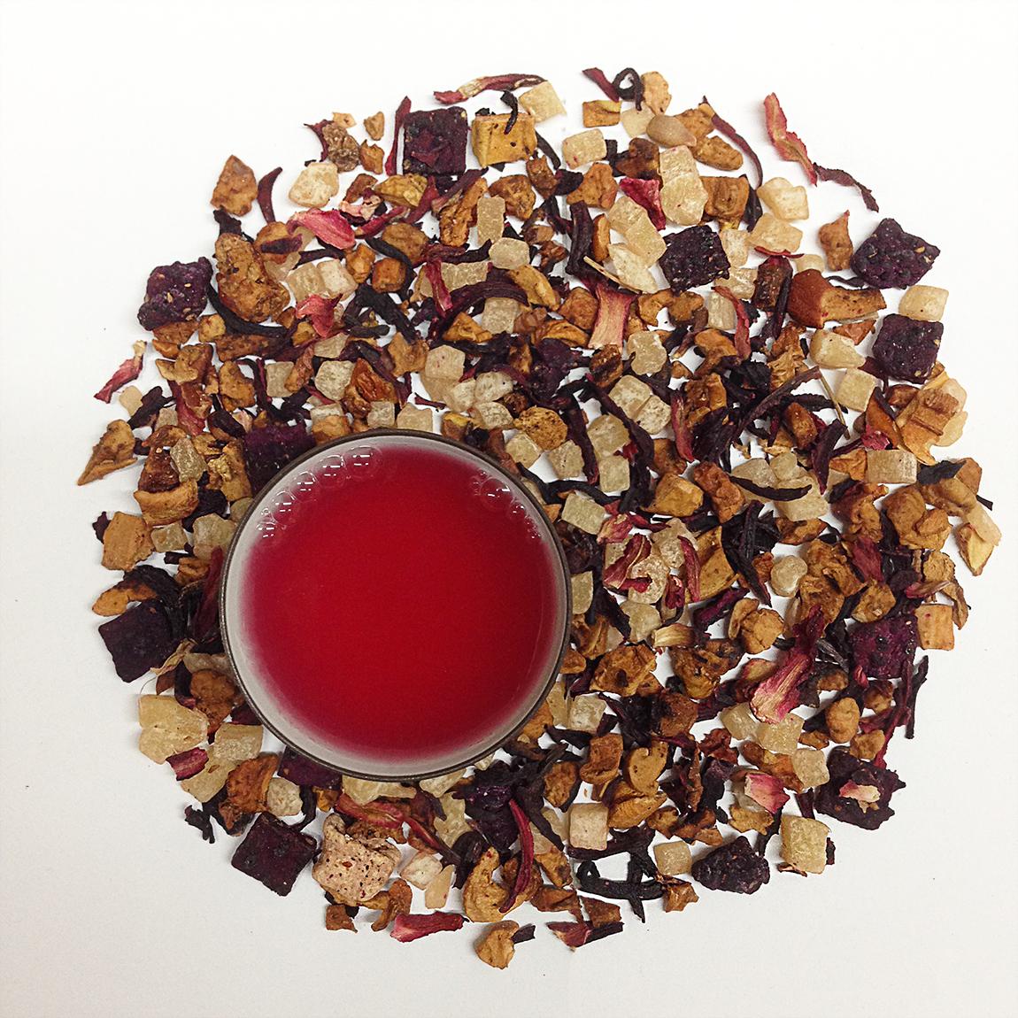 Pink Pomegranate Fruit Tea