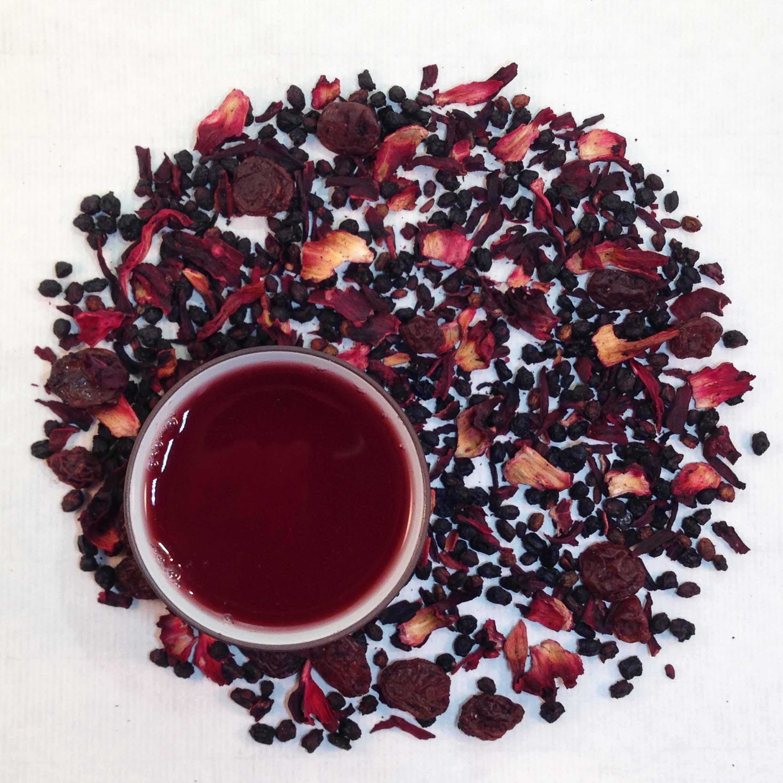 Rhapsody of Berries Fruit Tea (Organic)