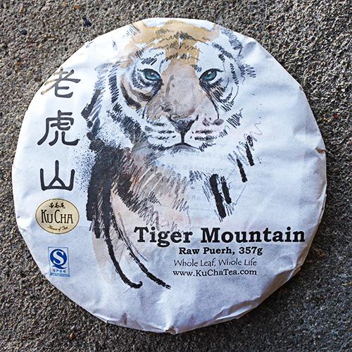Tiger Mountain Raw Puerh Tea