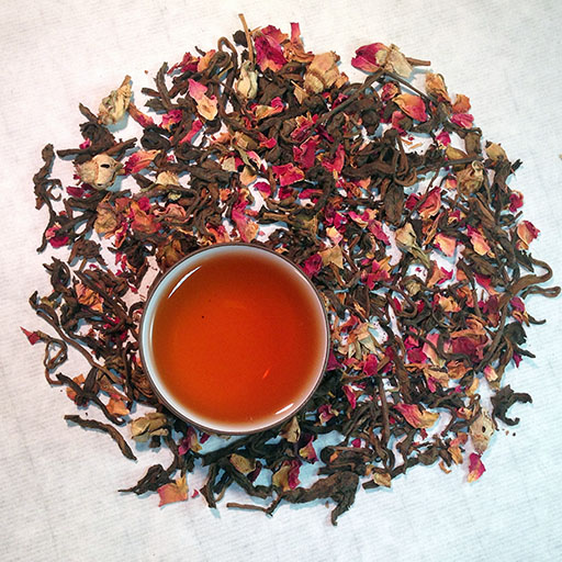 Organic Rose Puerh