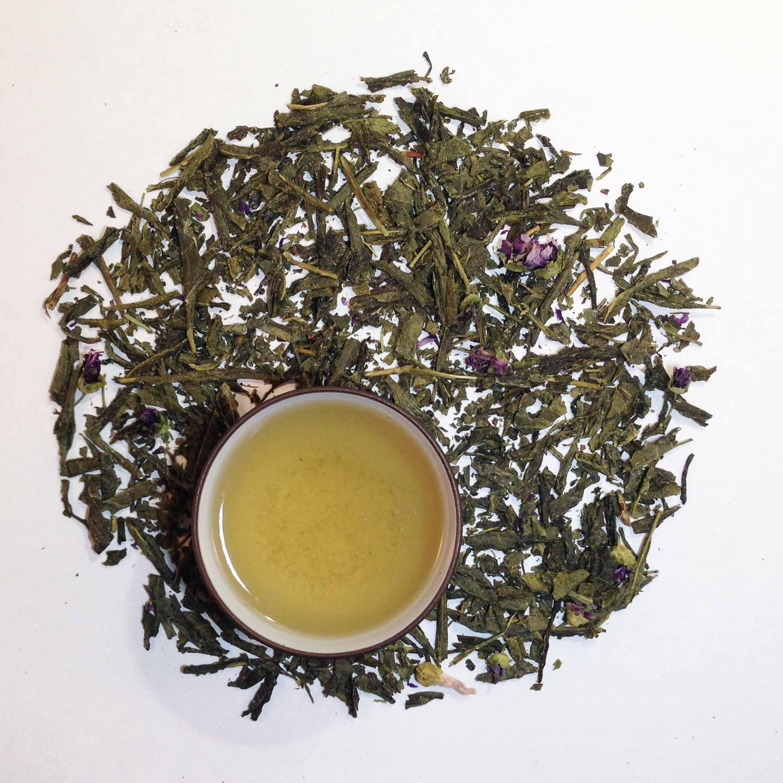 Plum Green Tea