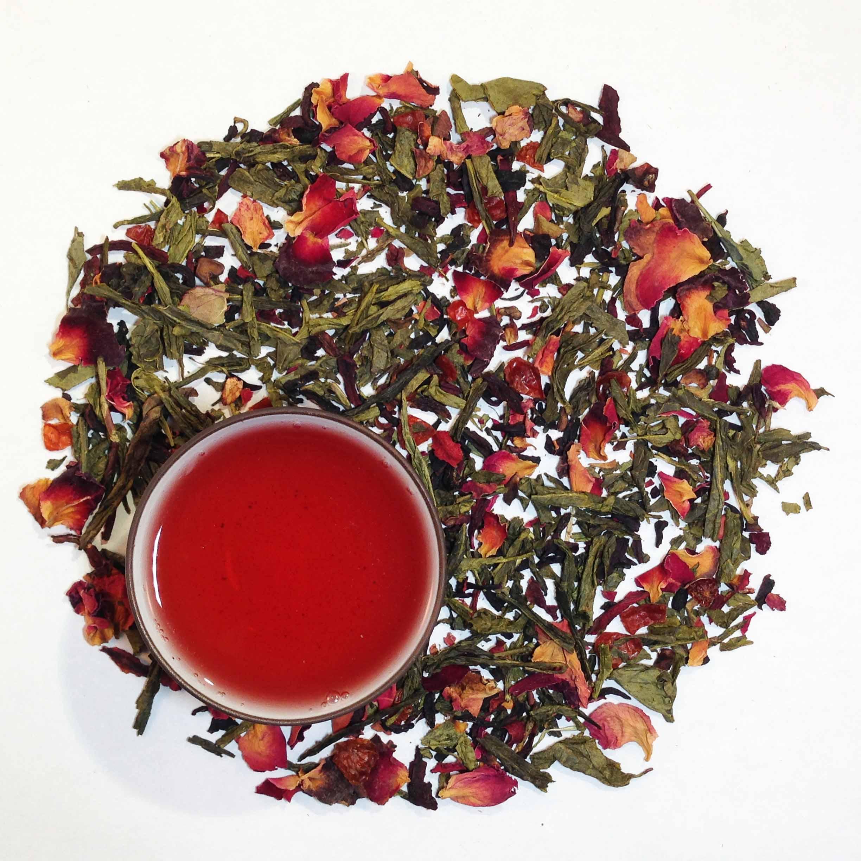 Sakura Cherry Green Tea