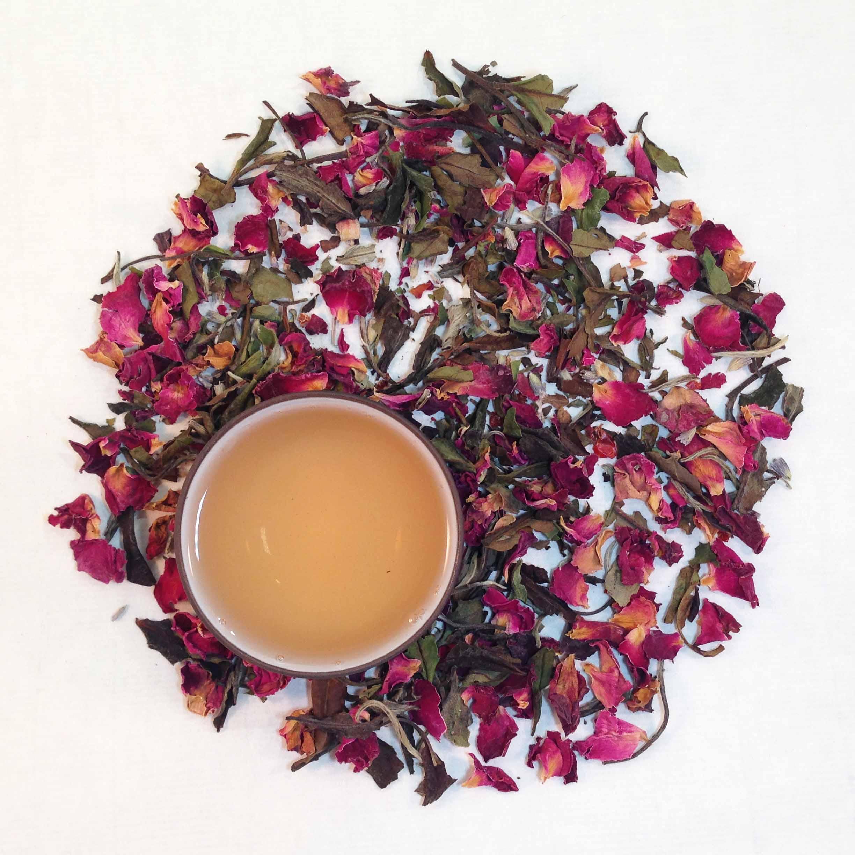 Organic Rose White Tea