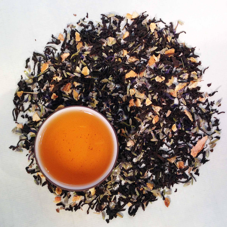 Lady Earl Grey Black Tea (Organic)