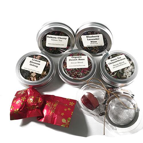 Flower Power Tea Box
