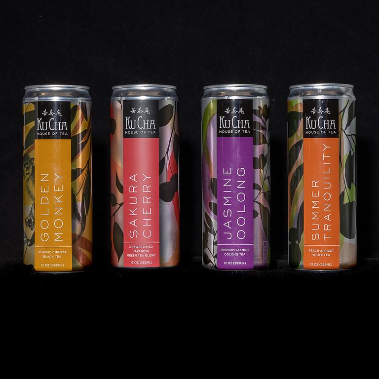 Assorted Canned Iced Tea