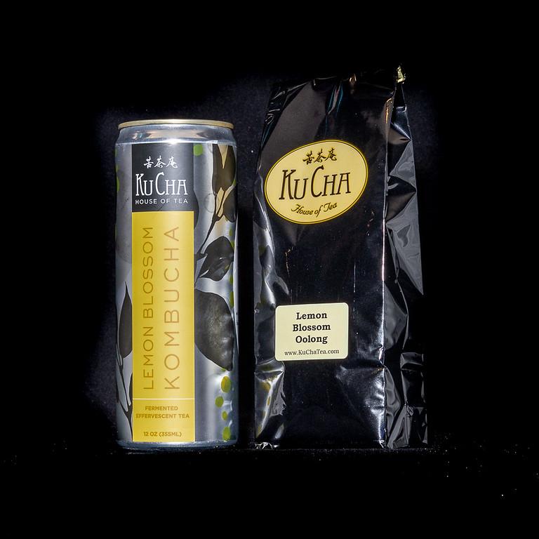 Canned Lemon Blossom Kombucha