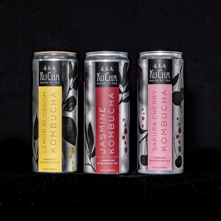 Assorted Canned Kombucha