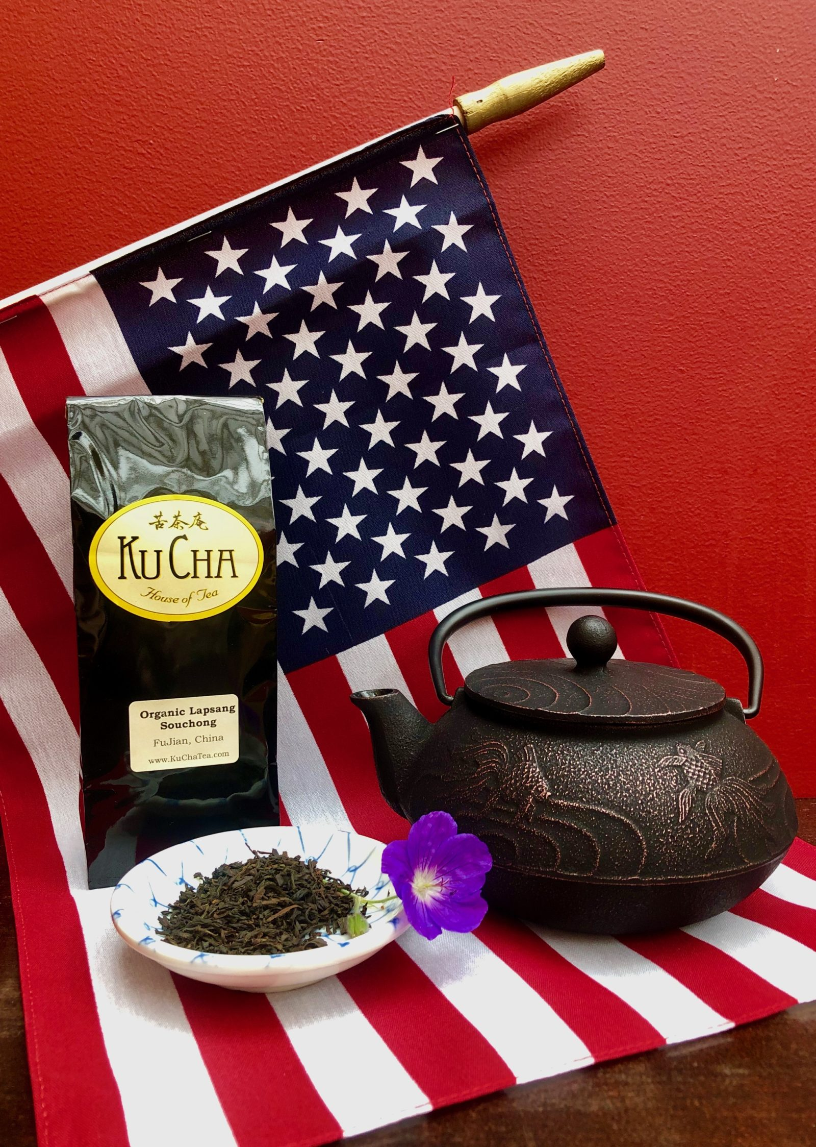 Tea on July 4
