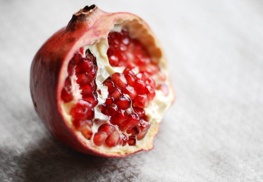 Pomegranate makes a wonderful tea flavor