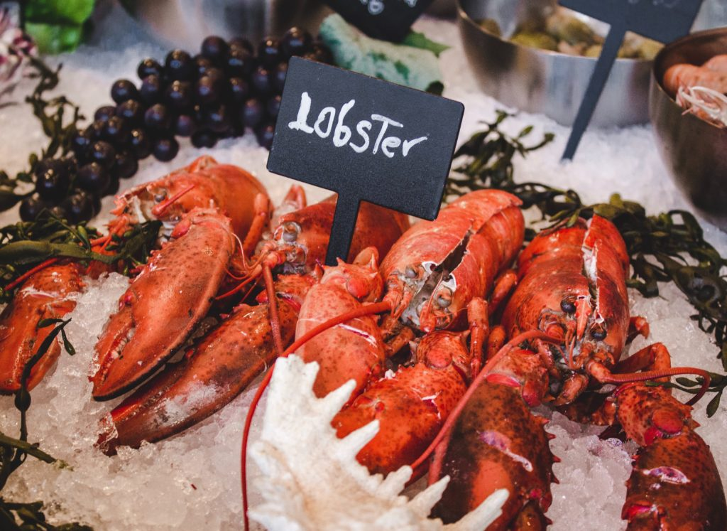 Tea and food like lobster pair well, especially if the tea is lemon oolong