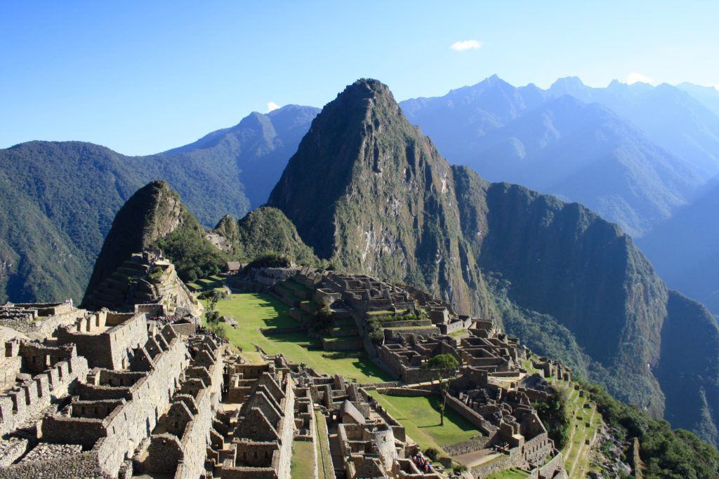 Vacation to Machu PIccu would delight.
