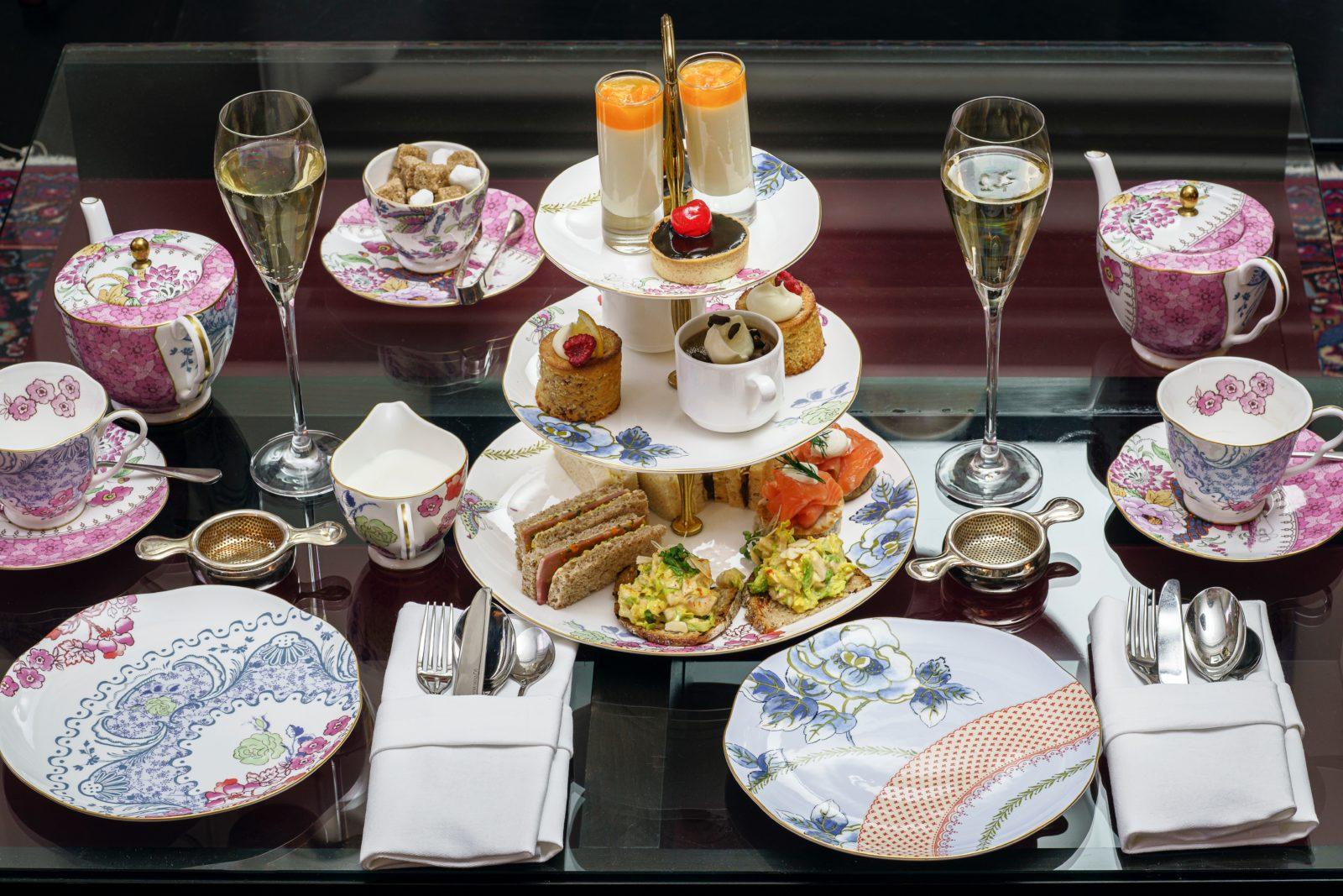 Tea and food pair wonderfully