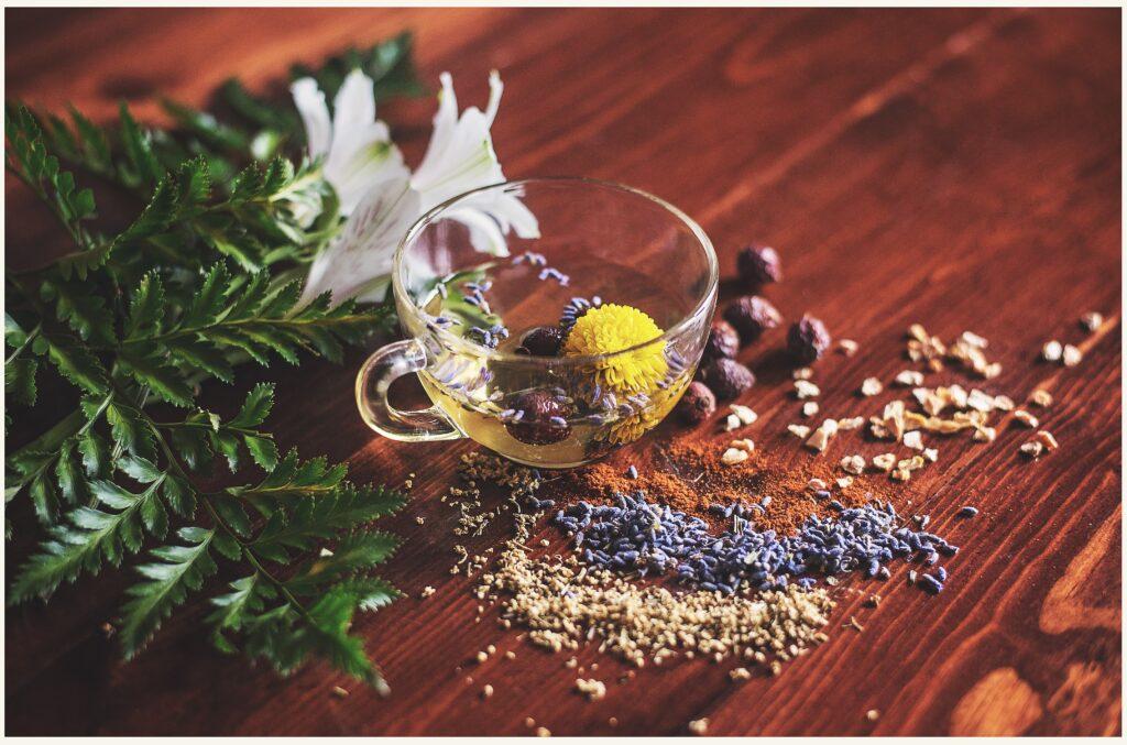 Herbal respiratory tea