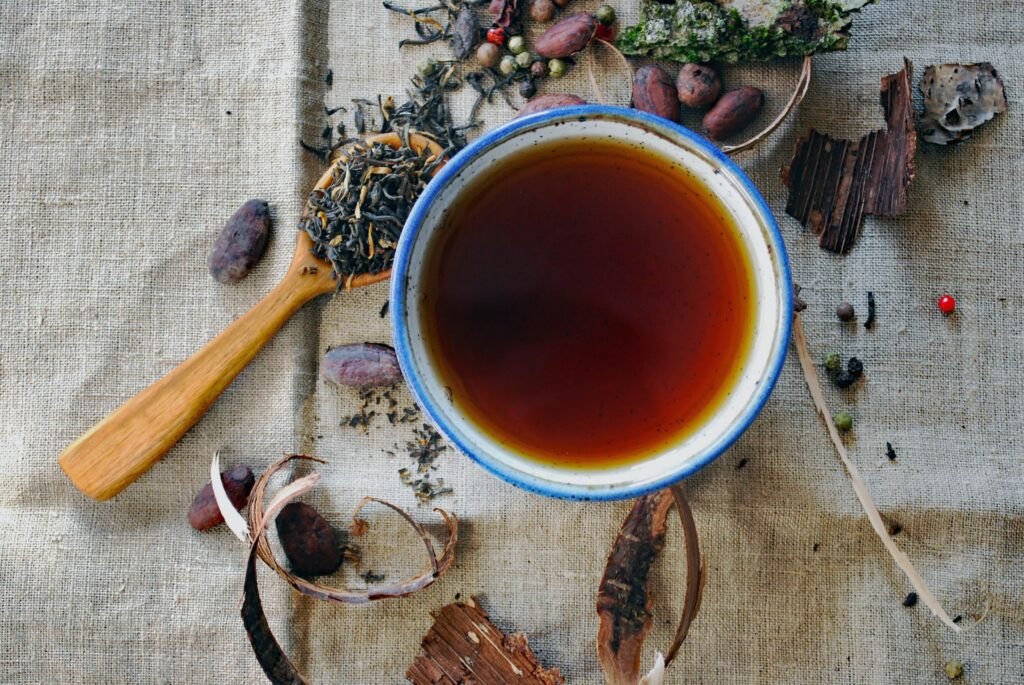 Herbal tea for immunity