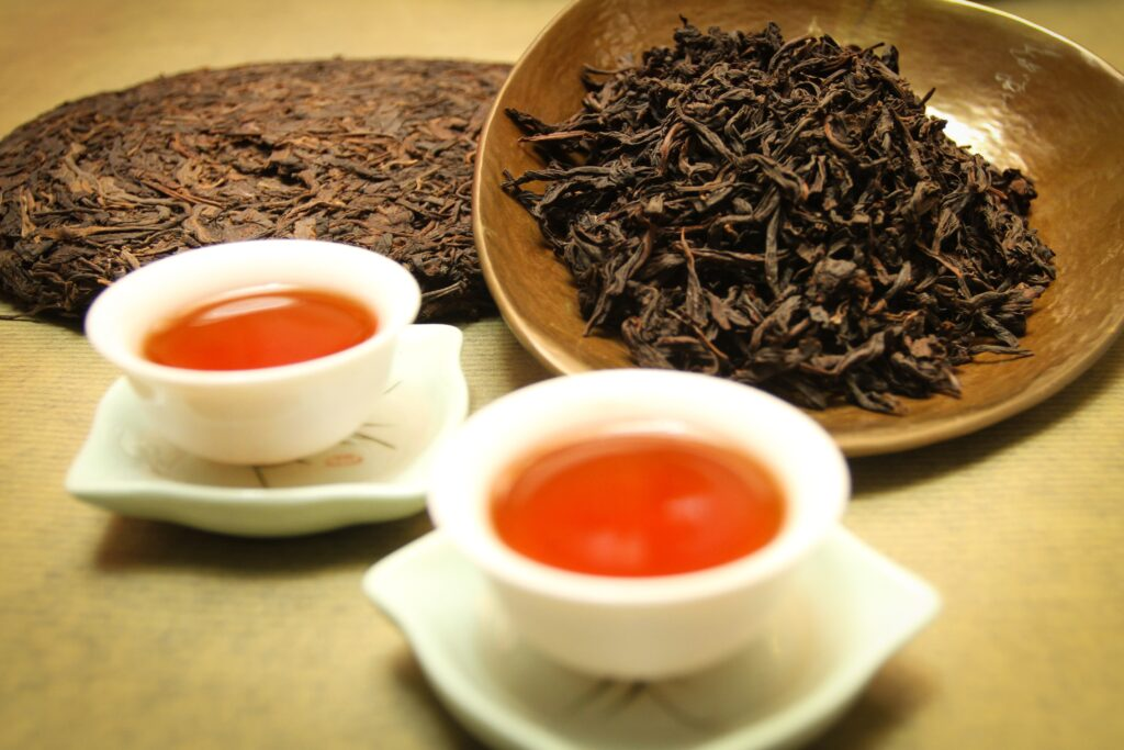 Pu-erh tea for immunity