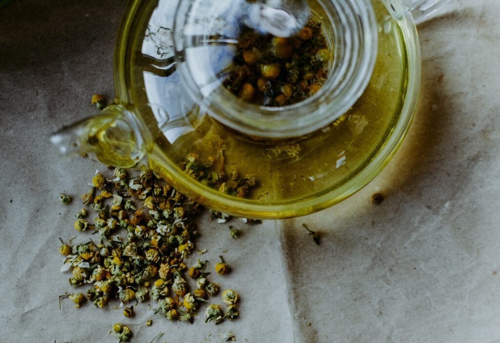 Chamomile for allergy relief
