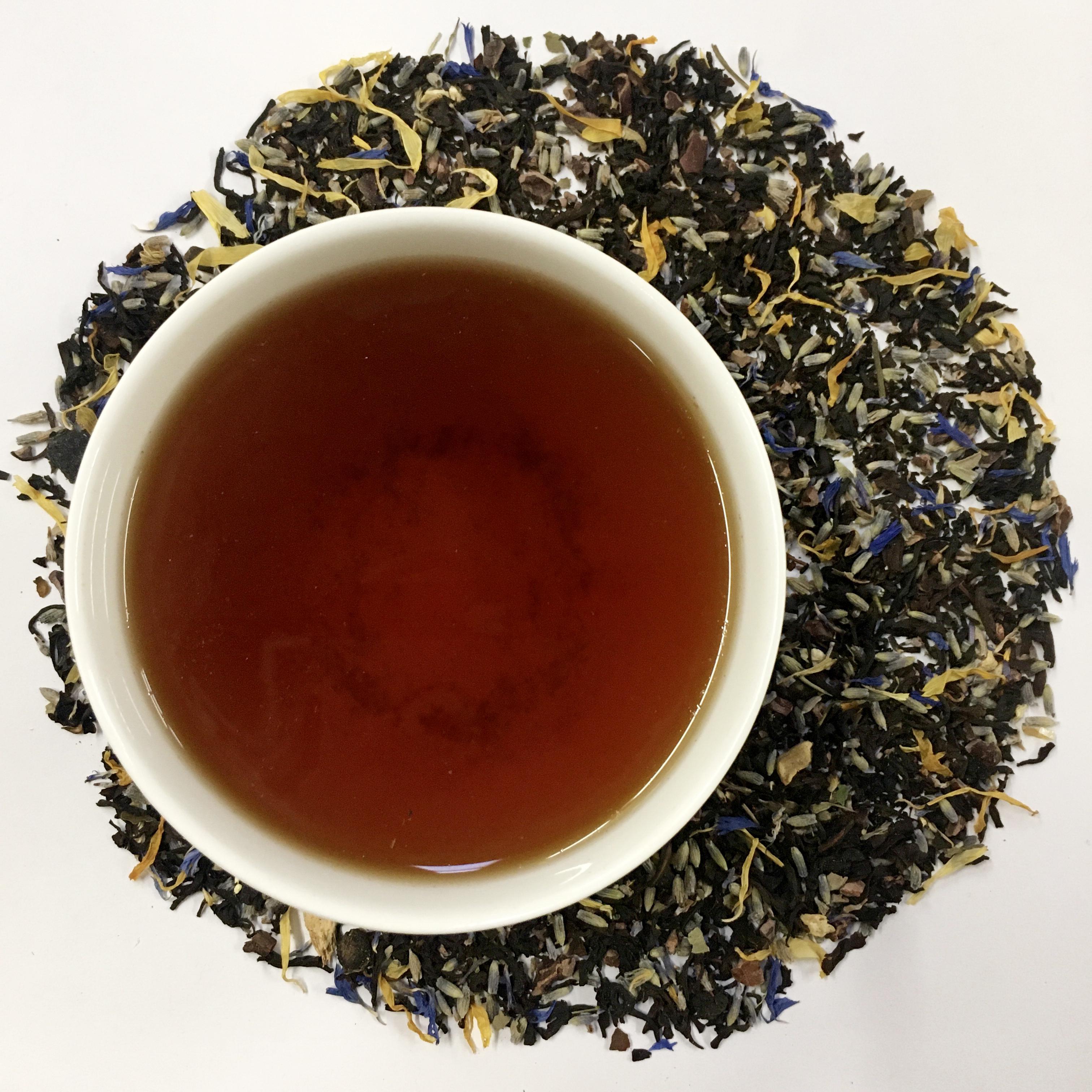 Wild Blueberry (Organic), Black Tea from Ku Cha House of Tea